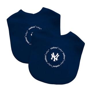 MLB New York Yankees 2-pack Baby Bib Set