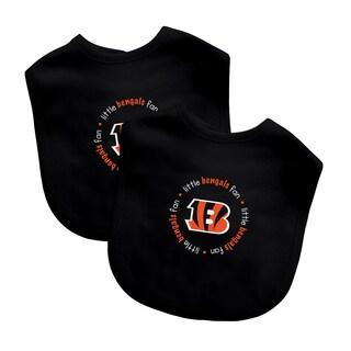 NFL Cincinnati Bengals 2-pack Baby Bib Set