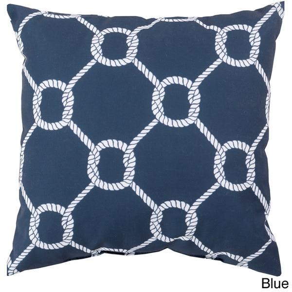 Sailors Circle Knot Indoor/Outdoor Decorative Throw Pillow