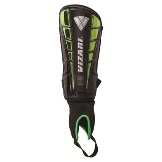 Vizari Sport 'Preston' Green Small Shin Guards