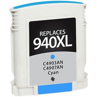 V7 Ink Cartridge - Alternative for HP (C4903AN, C4907AN) - Cyan