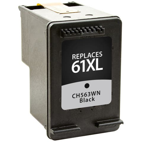 V7 Remanufactured High Yield Black Ink Cartridge for HP CH563WN (HP 61XL) - 480 page yield