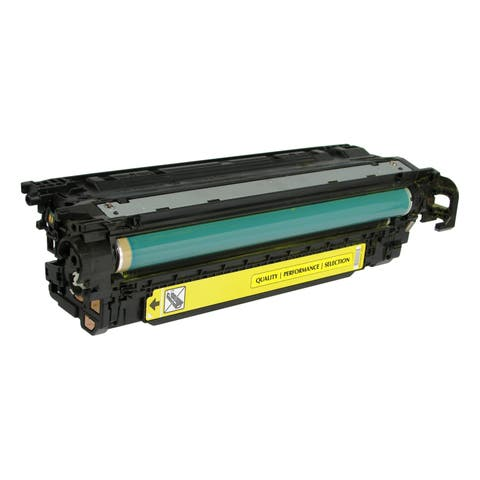 V7 Remanufactured Yellow Toner Cartridge for HP CE402A (HP 507A) - 6000 page yield