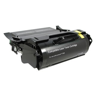V7 Remanufactured High Yield Toner Cartridge for Lexmark Compliant T6