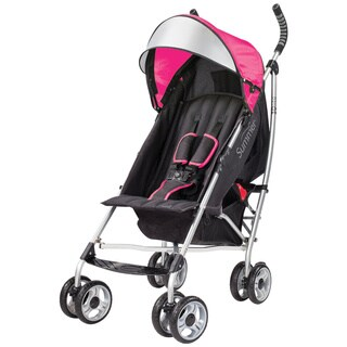 Summer Infant 3D Lite Convenience Stroller in Hibiscus Pink