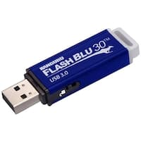 Kanguru FlashBlu30 with Physical Write Protect Switch SuperSpeed USB3