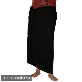 Handmade Women's Classic Embroidery Sarong (India)