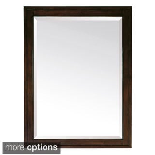 Avanity Madison 24-inch Mirror in Light Espresso Finish