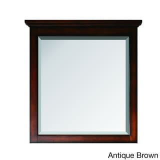 Avanity Tropica 31-inch Mirror in Antique Brown Finish