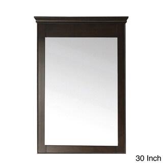 Avanity Windsor 24-inch Mirror in Walnut Finish