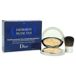 Dior Diorskin Aurora Nude Tan Enhancing Powder With Kabuki Brush