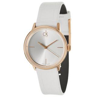 Calvin Klein Women's 'Accent' Rose Gold Plated Stainless Steel Swiss Quartz Watch https://ak1.ostkcdn.com/images/products/8964722/P16174612.jpg?impolicy=medium