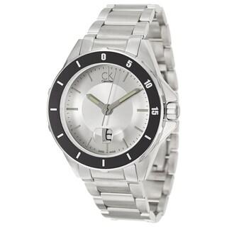 Calvin Klein Men's 'Play' Stainless Steel Swiss Quartz Watch