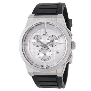 Calvin Klein Men's 'Dart' Black Swiss Quartz Watch