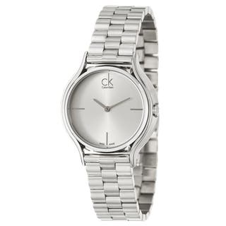 Calvin Klein Women's 'Skirt' Stainless Steel Swiss Quartz Watch https://ak1.ostkcdn.com/images/products/8964794/Calvin-Klein-Womens-Skirt-Stainless-Steel-Swiss-Quartz-Watch-P16174592.jpg?impolicy=medium