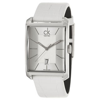 Calvin Klein Men's 'Window' Stainless Steel Swiss Quartz Watch