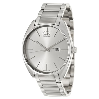 Calvin Klein Men's 'Exchange' Stainless Steel Swiss Quartz Watch