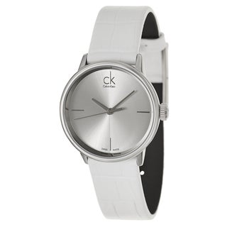 Calvin Klein Women's 'Accent' Stainless Steel Swiss Quartz Watch