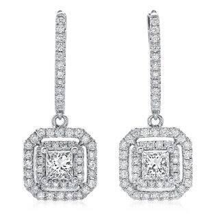 Azaro 14k White Gold 1 1/10ct TDW Princess-cut Diamond Double Halo Leverback Earrings https://ak1.ostkcdn.com/images/products/8964853/14k-White-Gold-1-1-10ct-TDW-Princess-cut-Diamond-Double-Halo-Leverback-Earrings-G-H-SI2-I1-P16174675.jpg?impolicy=medium