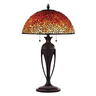 Quoizel Pomez with Burnt Cinnamon Finish Table Lamp - Thumbnail 0