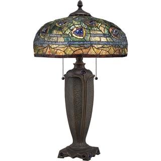 Gracewood Hollow Ujko Tiffany-style Lynch Desk Lamp