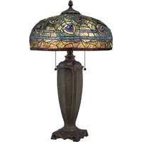 Quoizel Tiffany-style Lynch Desk Lamp