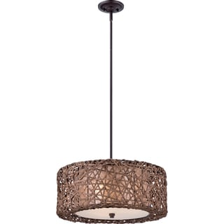 Ruckman 3-light Palladian Bronze Pendant