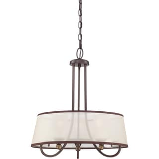 Quoizel Palmer with Palladian Bronze Finish 3-light Pendant