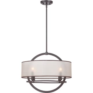 Portland with Western Bronze Finish 4-light Pendant