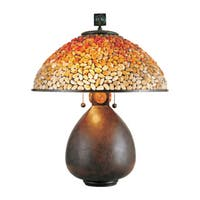 Quoizel Pomez with Cinnamon Finish Table Lamp