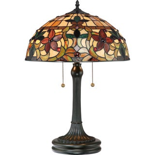 Quoizel Kami with Vintage Bronze Finish Table Lamp