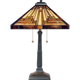 Quoizel Stephen with Vintage Bronze Finish Table Lamp