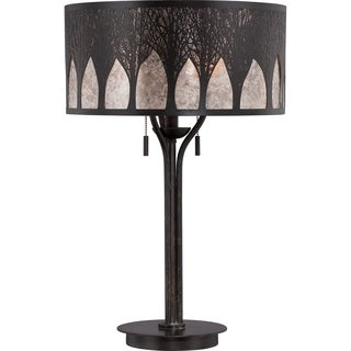 Mica Vega Imperial Bronze Finish Table Lamp