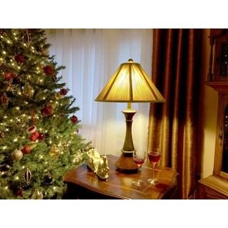 Quoizel 1-light Bronze Table Lamp
