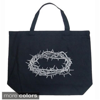 LA Pop Art Crown of Thorns Shopping Tote Bag