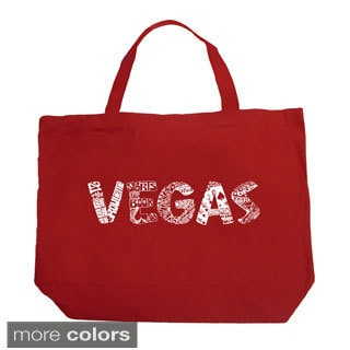 LA Pop Art Las Vegas Shopping Tote Bag