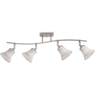 Quoizel Duchess Antique Nickel Finish 4-light Fixed Track Light