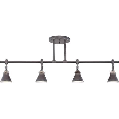 Quoizel Denning 4-light Palladian Bronze Finish Fixed Track Light