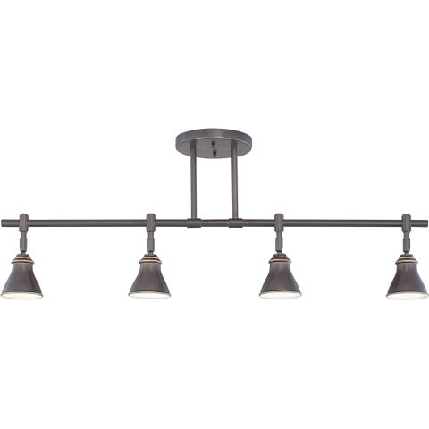Quoize Denning 4-light Palladian Bronze Finish Fixed Track Light