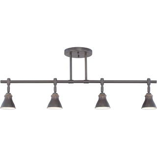 Quoizel Denning 4-light Palladian Bronze Finish Fixed Track Light|https://ak1.ostkcdn.com/images/products/8965324/Quoizel-Denning-4-light-Palladian-Bronze-Finish-Fixed-Track-Light-P16174983.jpg?impolicy=medium
