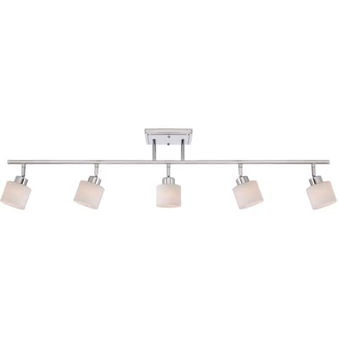 Quoizel Pacifica Polished Chrome Finish 5-light Fixed Track Light - Silver