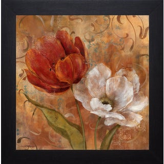 'Flower Duet II' by Carol Robinson Framed Art Print