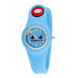So So Happy Kids' Ozzie Blue Snap Button Character Watch