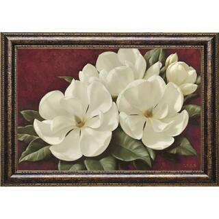 'Magnolia II' by Igor Levashov Framed Art Print|https://ak1.ostkcdn.com/images/products/8965448/Magnolia-II-by-Igor-Levashov-Framed-Art-Print-P16175205.jpg?impolicy=medium