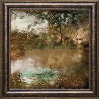 Land of Fantasy' by Irene Weisz Framed Art Print - Brown