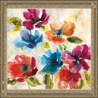 Color My World I' by Carol Robinson Framed Art Print