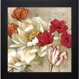 Carol Robinson 'Jardin II' Framed Art Print