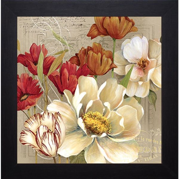 Jardin I' by Carol Robinson Framed Art Print