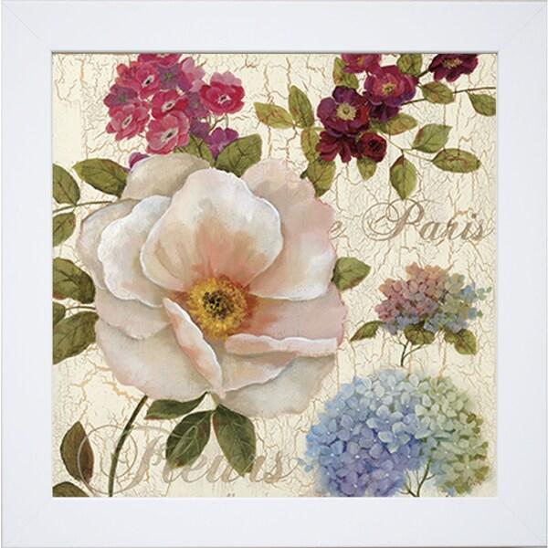 'Paris Fleurs' by Nan Framed Art Print
