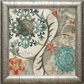 Royal Tapestry II' by Carol Robinson Framed Art Print - White